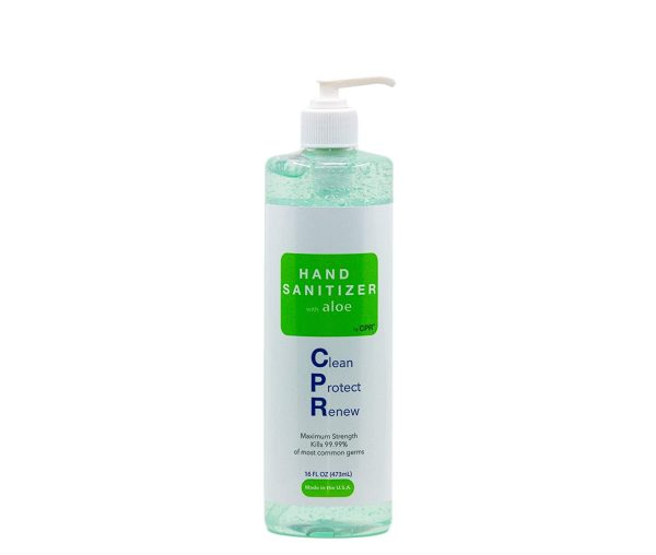 CPR Maximum Strength Hand Sanitizer with Aloe